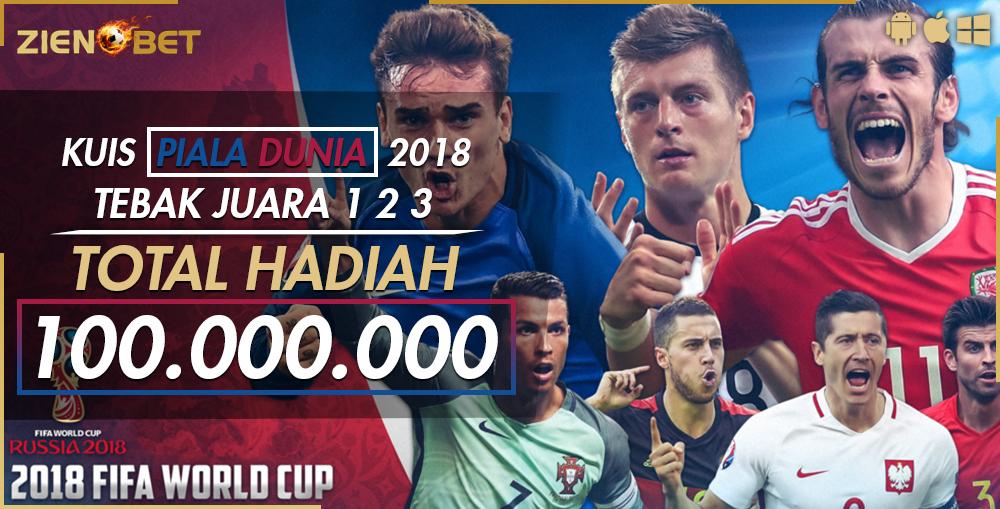 QUIZ TEBAK JUARA 1 2 3 WORLD CUP 2018