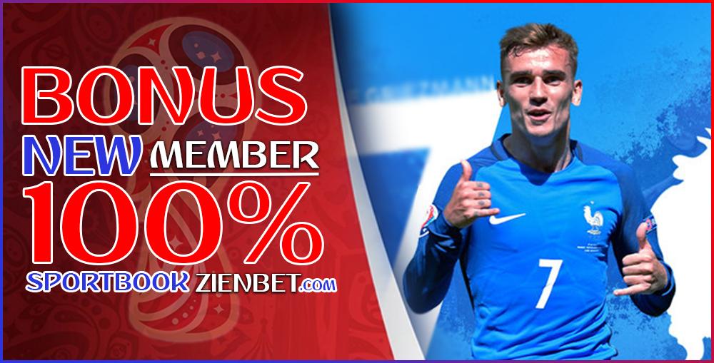 Bonus New Member Sportbook 100%