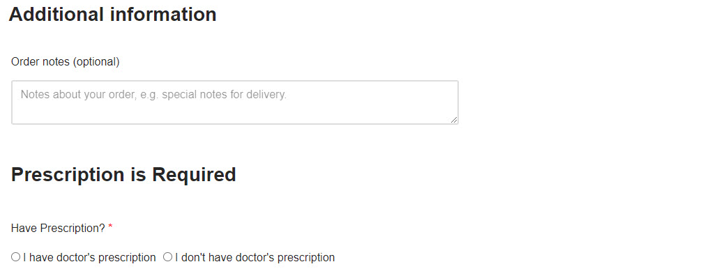 How to Upload a Prescription